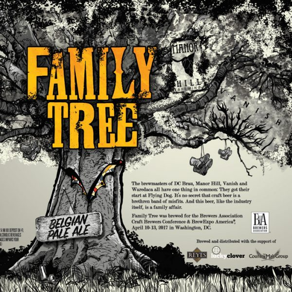 Craft Brewers Conference Flying Dog Family Tree